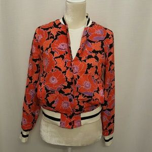 NWT,  who,what, wear. Bomber jacket. Size small.